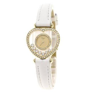 ショパール(Chopard)の美品✨Chopard ショパール ハッピーダイヤモンド ダイヤベゼル✨腕時計 (腕時計)