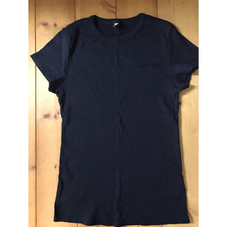 ユニクロ(UNIQLO)のUNIQLO  リブTシャツ(Tシャツ(半袖/袖なし))