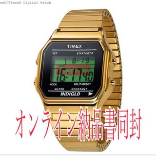 シュプリーム(Supreme)のシュプリーム タイメックス ゴールド(腕時計(デジタル))