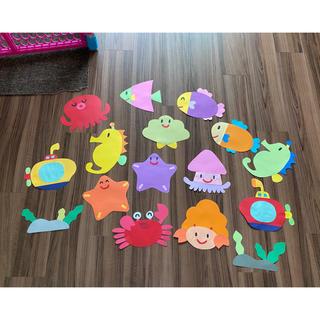 海の壁面 保育園 幼稚園 夏の壁面(型紙/パターン)