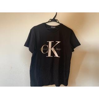 カルバンクライン(Calvin Klein)のCalvin Klein ロゴ Tシャツ ブラック美品最終値下げ(Tシャツ(半袖/袖なし))