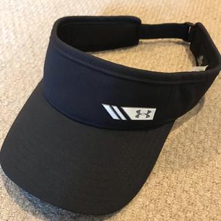 アンダーアーマー(UNDER ARMOUR)のアンダーアーマー  ゴルフ サンバイザー 帽子 黒(その他)