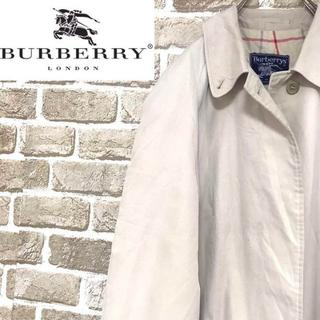 バーバリー(BURBERRY)の【バーバリー】Burberrys イングランド製 トレンチコート チェック(トレンチコート)