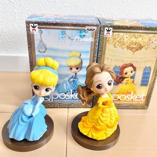 ディズニー(Disney)のqposket  petit ディズニー プリンセス(キャラクターグッズ)