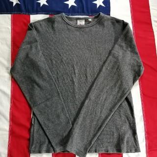 アヴィレックス(AVIREX)のAVIREX・ロンT ストレッチ グレー(Tシャツ/カットソー(七分/長袖))