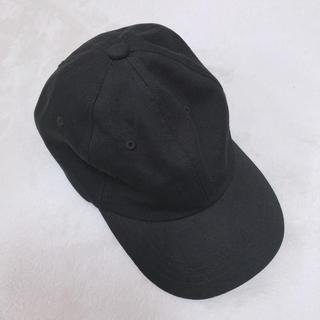 ジーユー(GU)のGU レディースキャップ 黒(キャップ)