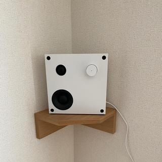 イケア(IKEA)のIKEA Bluetoothスピーカー ENEBY ホワイト(スピーカー)