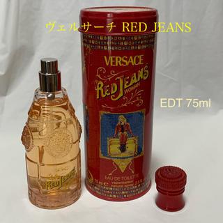 ヴェルサーチ(VERSACE)のVERSACE ヴェルサーチ レッド ジーンズ EDT 75ml 香水(ユニセックス)