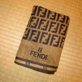 フェンディ(FENDI)の新品☆フェンディ☆フェイスタオル(タオル/バス用品)