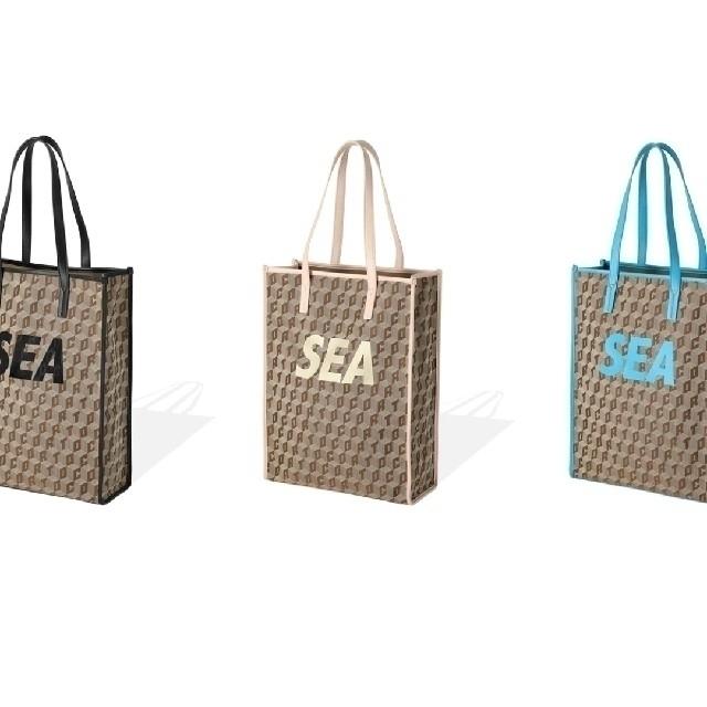 SEA(シー)のCORTO MOLTEDO WIND AND SEA トートバッグ ターコイズ レディースのバッグ(トートバッグ)の商品写真