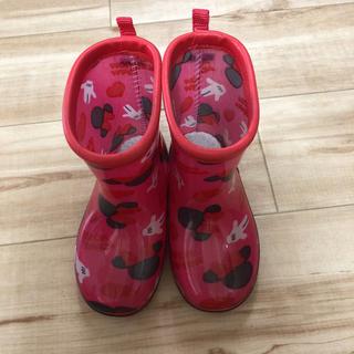 ディズニー(Disney)のミニーちゃん長靴(長靴/レインシューズ)