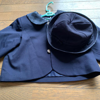 季美の森幼稚園 制服と帽子(ジャケット/上着)