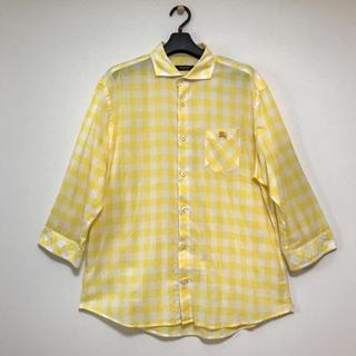 バーバリーブラックレーベル(BURBERRY BLACK LABEL)のバーバリー ブラックレーベル  7分袖メンズシャツ(シャツ)
