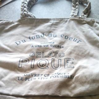 ジェラートピケ(gelato pique)のジェラートピケ トートバッグ エコバッグ(トートバッグ)