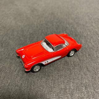 シボレー(Chevrolet)の1957 シボレー コルベット ミニカー レッド 1/64サイズ(ミニカー)