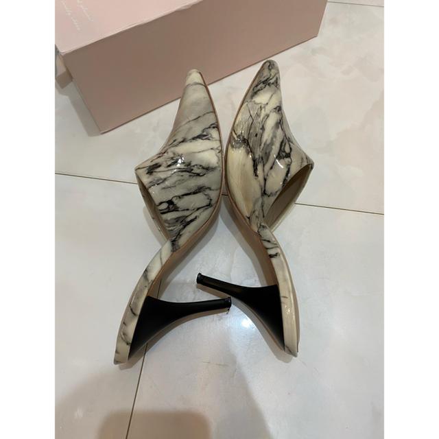 eimy istoire(エイミーイストワール)のeimy istoire 大理石 ミュール M レディースの靴/シューズ(ミュール)の商品写真