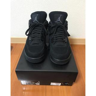 ナイキ(NIKE)のair jordan 4 retro black cat 28.5cm 国内正規(その他)