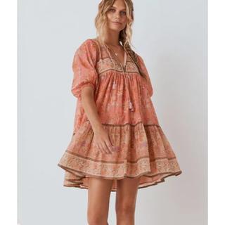 ルームサンマルロクコンテンポラリー(room306 CONTEMPORARY)のspell seashell Boho mini dress(ミニワンピース)