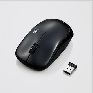エレコム(ELECOM)のELECOM 無線IRマウス ブラック(PCパーツ)