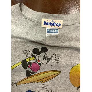 バックドロップ(THE BACKDROP)のレア ミッキー サーフ Tシャツ the Backdrop バックドロップ(Tシャツ/カットソー(半袖/袖なし))