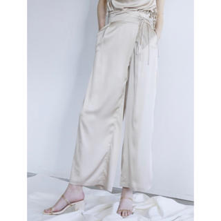 ハニーミーハニー(Honey mi Honey)のHONEY MI HONEY Satin wrap pants(その他)