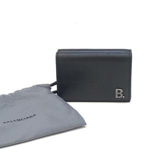 バレンシアガ(Balenciaga)の5698 BALENCIAGA バレンシアガ 財布 3つ折り コンパクト メンズ(折り財布)