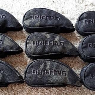 ブリーフィング(BRIEFING)の【未使用】BRIEFING ブリーフィング セパレート アイアンカバー(その他)