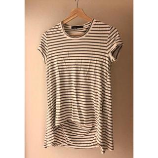ビーシービージーマックスアズリア(BCBGMAXAZRIA)のBCBG ボーダーTシャツ(Tシャツ/カットソー(半袖/袖なし))