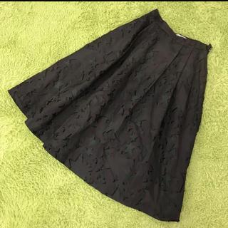 アングローバルショップ(ANGLOBAL SHOP)のANGLOBAL SHOP アングローバルショップ 星柄ジャガードスカート 36(ひざ丈スカート)