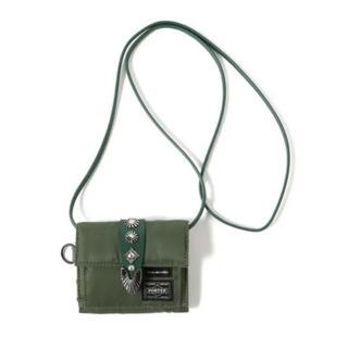 トーガ(TOGA)のTOGA × PORTER SHOULDER WALLET カーキ 財布 (財布)