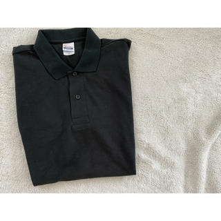 ビーエムダブリュー(BMW)のBMW 黒 ポロシャツ メンズ L(ポロシャツ)