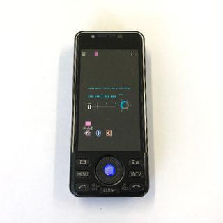 パナソニック(Panasonic)のdocomo STYLE series P-08A ブラック(携帯電話本体)