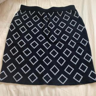エゴイスト(EGOIST)のEGOIST ニットスカート Fサイズ(ミニスカート)