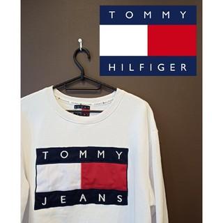 トミーヒルフィガー(TOMMY HILFIGER)のトミージーンズ トレーナー スウェット S メンズ(スウェット)