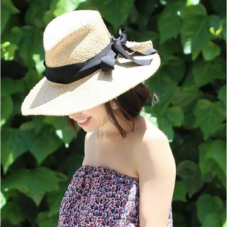 イエナ(IENA)の大人気♡LOLA HATS♡ラフィアハット♡(麦わら帽子/ストローハット)