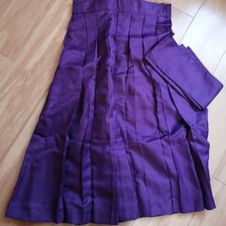 キャサリンコテージ(Catherine Cottage)の【未使用】キャサリンコテージ 袴スカート 150-160cm 紫(和服/着物)