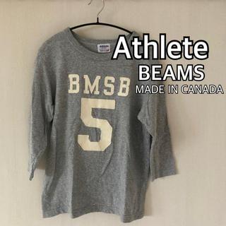 ビームス(BEAMS)のAthlete アスリート BEAMS カナダ製 boy(Tシャツ(長袖/七分))