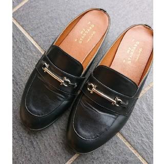 スタディオクリップ(STUDIO CLIP)のビットローファー23~23.5cm(ローファー/革靴)