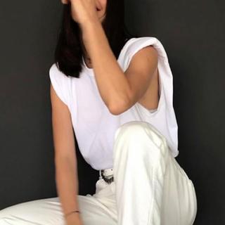 マルタンマルジェラ(Maison Martin Margiela)のTELA パテッドTシャツ(Tシャツ(半袖/袖なし))