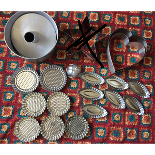 シフォンケーキ型 タルト型 マドレーヌ型 ハート型 星型(調理道具/製菓道具)