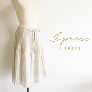 ジェイプレスレディス(J.PRESS LADIES)のJ.PRESS LADIES☆夏物プリーツスカート(ひざ丈スカート)