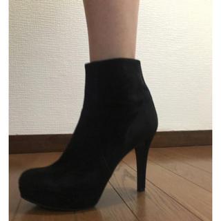 ダイアナ(DIANA)のDIANA スエード ブーツ ブーティ(ブーツ)