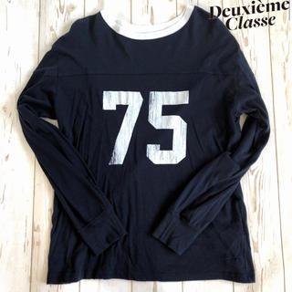 ドゥーズィエムクラス(DEUXIEME CLASSE)のドゥーズィエムクラス☆thridda☆フットボールロンT(Tシャツ(長袖/七分))