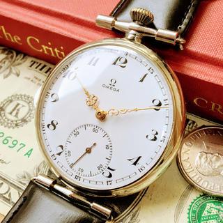 オメガ(OMEGA)の#680【超カッコイイ!】オメガ Ω【OMEGA】/手巻メンズ腕時計/コンバート(腕時計(アナログ))