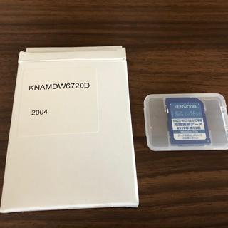 ケンウッド(KENWOOD)のケンウッド 地図更新用SDカード(車内アクセサリ)