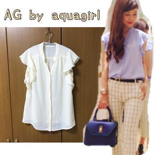 エージーバイアクアガール(AG by aquagirl)のAG by aquagirl☆トップス(シャツ/ブラウス(半袖/袖なし))