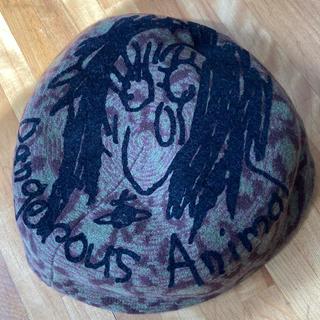 ヴィヴィアンウエストウッド(Vivienne Westwood)のVivienne Westwood DangerousAnimal 豹柄ベレー帽(ハンチング/ベレー帽)