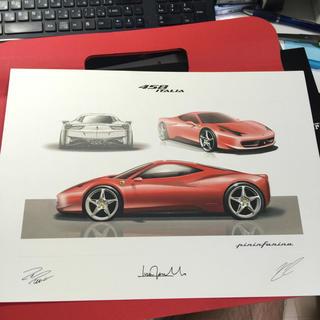 フェラーリ(Ferrari)のフェラーリ リトグラフ(カタログ/マニュアル)