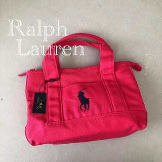 ラルフローレン(Ralph Lauren)の新品★ラルフローレン ミニトート キャンバスバッグ(トートバッグ)