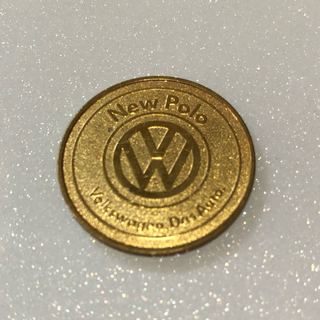 フォルクスワーゲン(Volkswagen)のフォルクスワーゲン ポロ コイン 非売品(車種別パーツ)